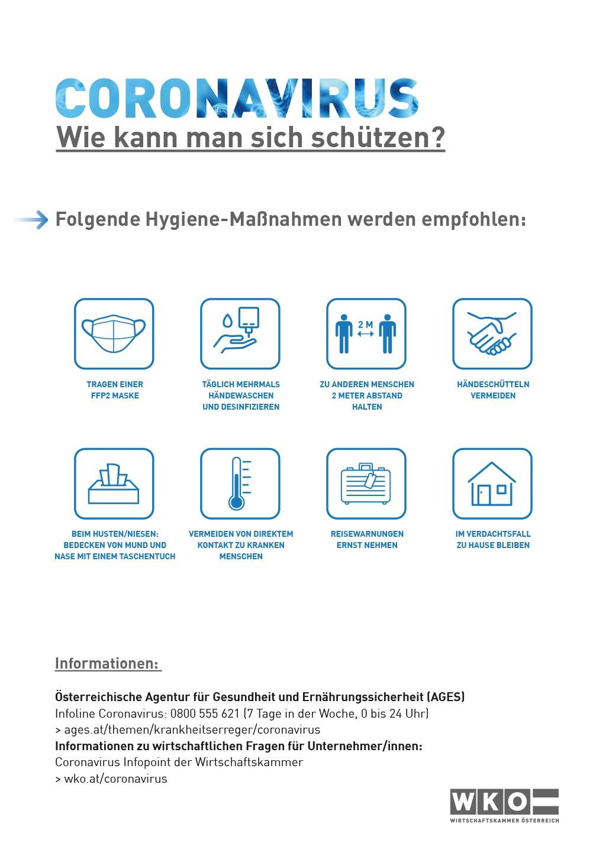 Hygiene-Maßnahmen 2021-02 - pedimade - Susanne Reiser